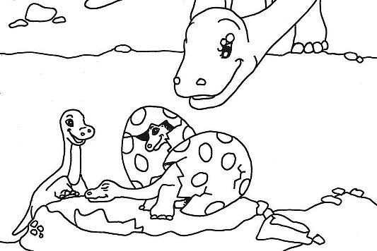 Bilder Zum Ausmalen Unsere Dinos Brauchen Farbe Saurierpark