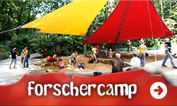 das Forschercamp im Saurierpark