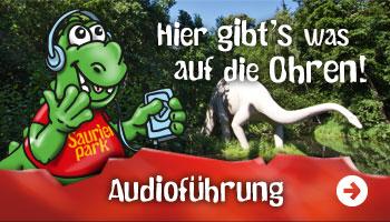 Neu! Audioführung durch den Saurierpark