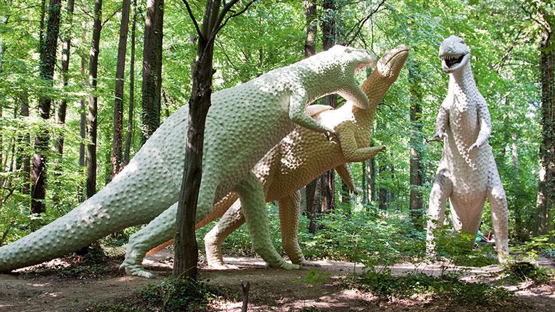 Antrodemus i Camptosaurus