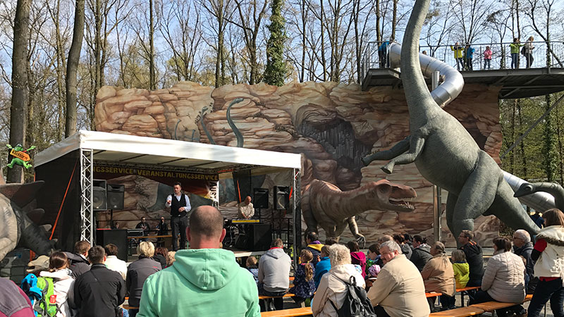 Saisonstart 2017 im Saurierpark Bild 4